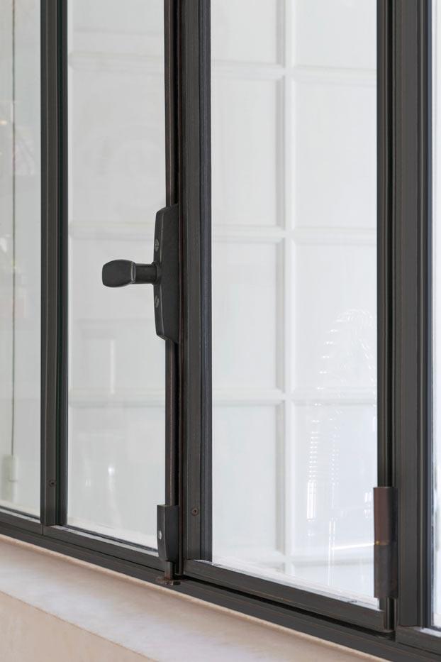 Célèbre Fenêtre en acier de style atelier d'artiste : battante ou coulissante AZ43