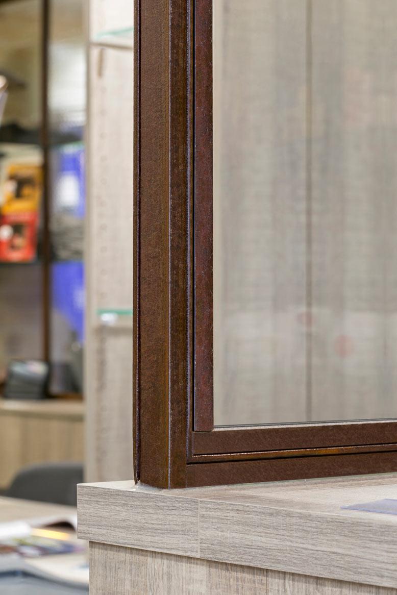 Verrière et cloison vitrée atelier d'artiste : finition couleur ...