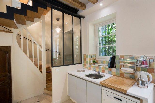 Quel type de cloison verri re atelier d 39 artiste pour - Verriere interieure cuisine ...