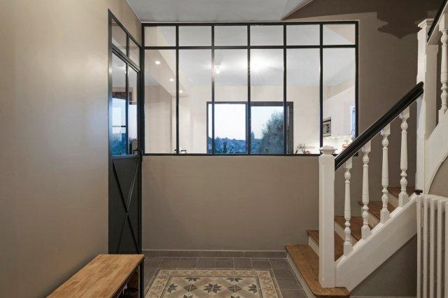 Populaire Créer une verrière pour une entrée de maison ou un couloir d  NY26