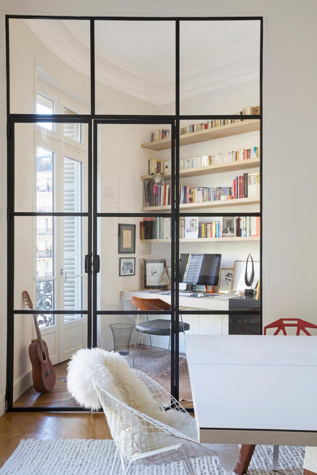 Porte De Style Atelier Dartiste En Acier Battante Ou à Frappe - Porte style atelier