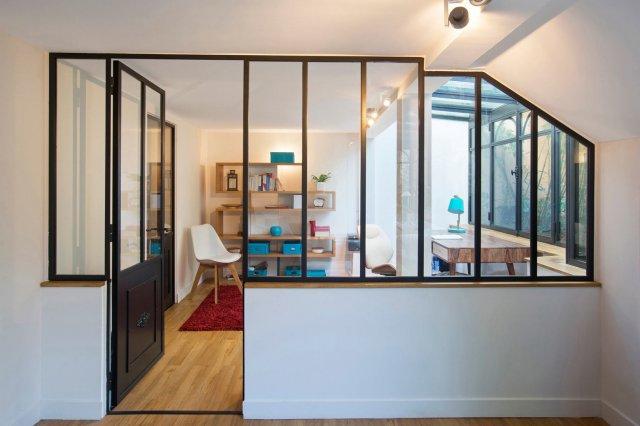 Porte De Style Atelier D 39 Artiste En Acier Battante Ou Frappe
