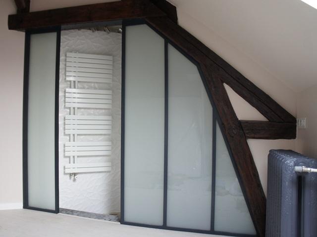 Quel type de cloison verri re atelier d 39 artiste pour for Paroi vitree style atelier