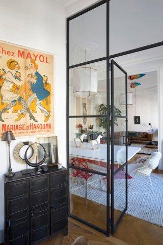 Verrire Sur Mesure De Style Atelier DArtiste DIntrieur En Acier