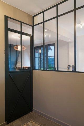Creer Une Verriere Pour Une Entree De Maison Ou Un Couloir D Appartement