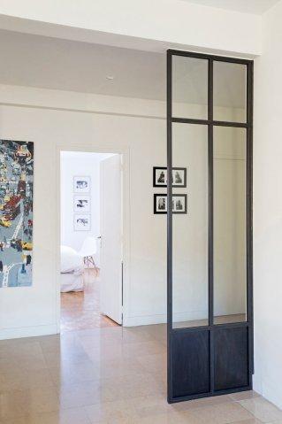 Créer une verrière pour une entrée de maison ou un couloir d\'appartement